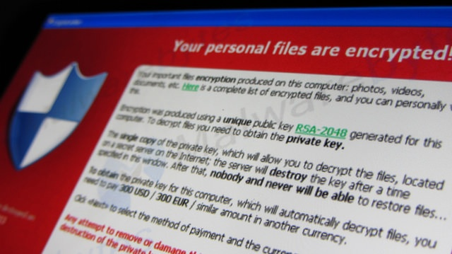 healthcare cybersecurity ransomware image