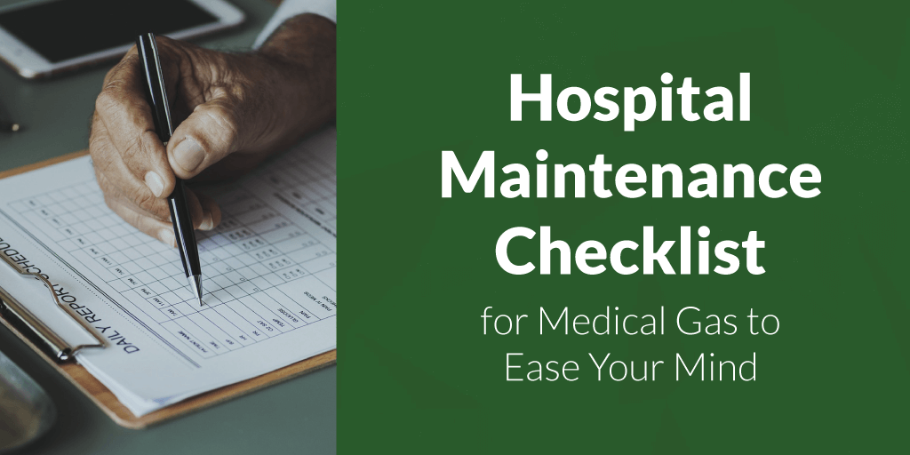 hospital-maintenance-checklist